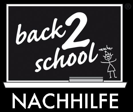 back2school Nachhilfe Logo Teacher